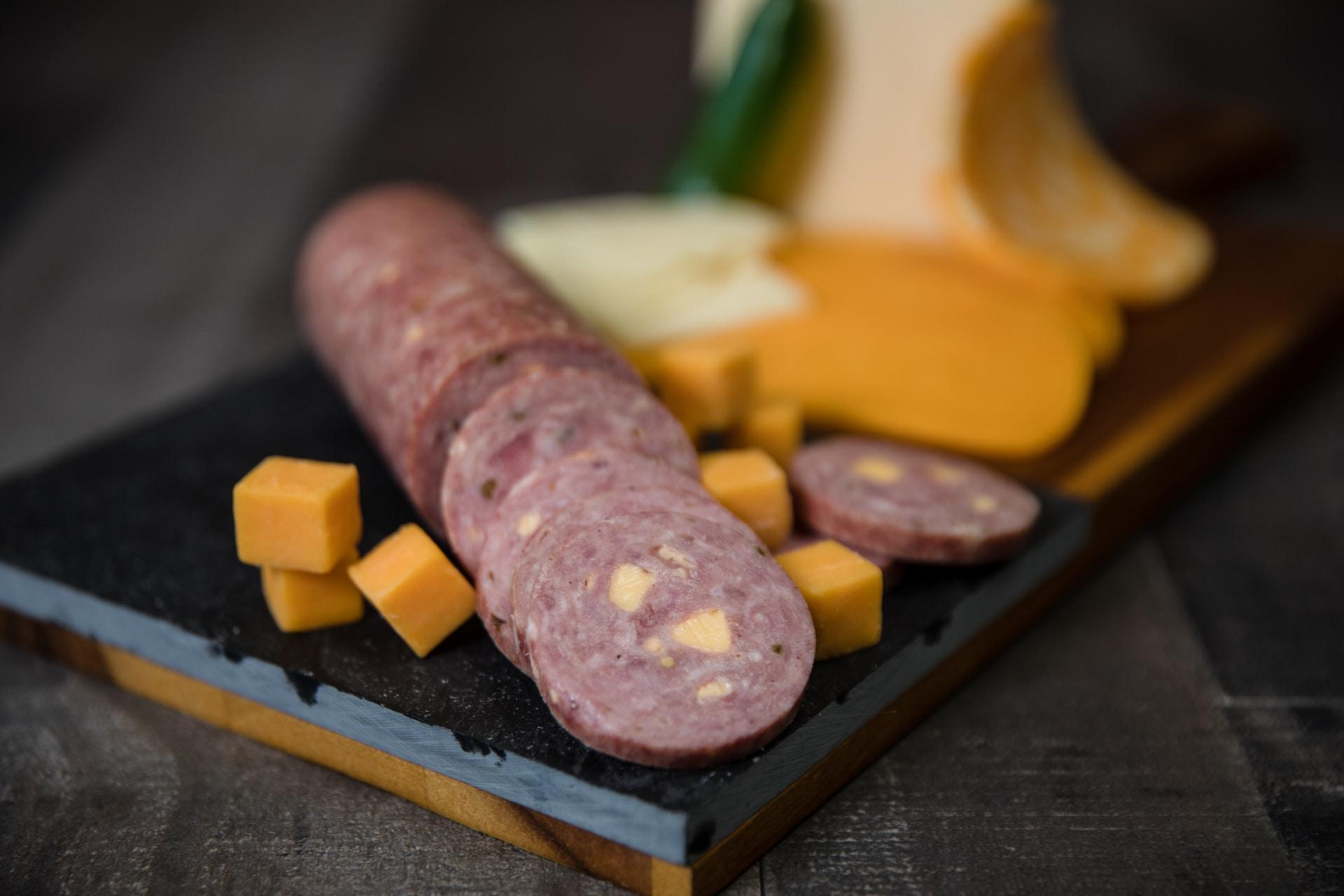 Slovacek Jalapeno Cheese Sausage